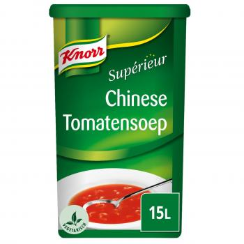 Knorr Supérieur Chinesische Tomatensuppe (Dose 1,35 Kilo NL)