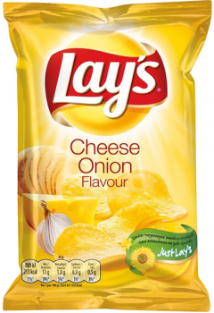 Lay's Chips Cheese Onion (20 x 40 gr.)