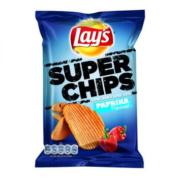 Lay's Super Chips Paprika Flavour (20 x 45 gr.) Chips