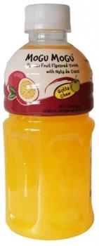 Mogu Mogu nata de coco Passion Fruit (24 x 0,32 Liter PET-Flasche)
